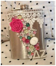 i HAVE to make one of these for Momma! without the sorority sign though, of course!