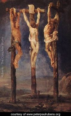 The Three Crosses c. 1620 - Peter Paul Rubens