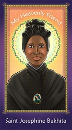 Herald Store Prayer Card - Saint Josephine Bakhita