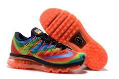 competitive price 4c565 3ada9 Nike Air Max 90 Women s 847655-400 Running Colorful Rainbow Cross Training Shoes  Nike Shoes