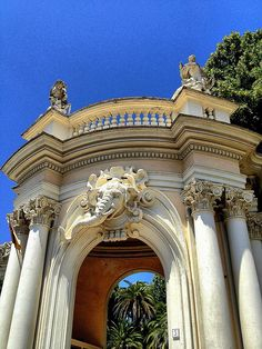 Entrance Gate - Rome Zoo