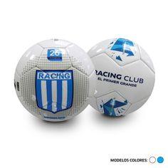 #Pelota de #futbol #Dribbling Intercontinental #RacingClub #Academia PVC. Cosida a máquina. 32 paneles. Entretenimiento. #SoccerBall #Soccer #Ball #Deporte #Sport