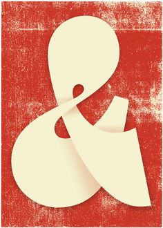 'Ampersand' by Martina Flor for lettercollections.com