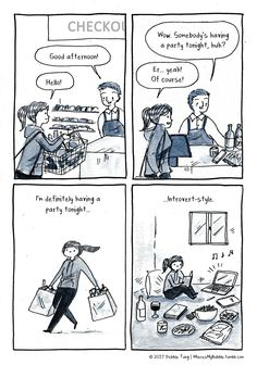 Introvert-Style Party :)