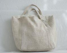ana & cuca, linen bag