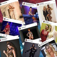 """Quer saber foram as fotos mais populares compartilhadas no Instagram durante o #bailedavogue2017? De @anitta no palco ao close na maquiagem de @lalatrussardirudge passando pelo look de @sabrinasato e de @thassianaves descubra os cliques que mais arrecadaram """"likes"""" - no link da bio. #bailedavogue2017 #bailedavogue #ladyzodiac  via VOGUE BRASIL MAGAZINE OFFICIAL INSTAGRAM - Fashion Campaigns  Haute Couture  Advertising  Editorial Photography  Magazine Cover Designs  Supermodels  Runway Models"""