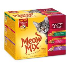 Meow Mix Tender Favorites Wet Cat Food, 2.75-Ounce, Pack of 24 ** Remarkable product available now. : Best Cat Food