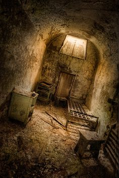 Eastern State Penitentiary - most haunted prison in US. Cell Block 12. Cannot wait to go here, something always comes up, every year! I will get there!