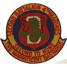 2nd Battalion 4th Marines Vietnam | United States 4th Marine 2nd Battalion Patch - MilitaryPlus