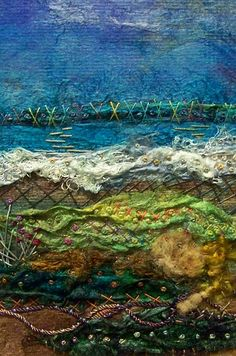 #151 Silk Scape Too by Deebs Fiber Arts, via Flickr
