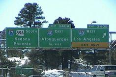 hmmm....too many places I like.  How to choose.  (In Flagstaff, AZ)