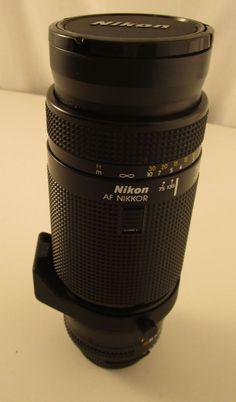 Nikon AF Nikkor 75-300 mm 1:4.5 - 5.6 Lens #Nikon
