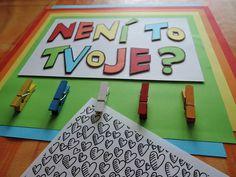 Moje duhová variace na pinterestové anglické NO NAME boards :-) Zde je vidět plastičnost písmen.
