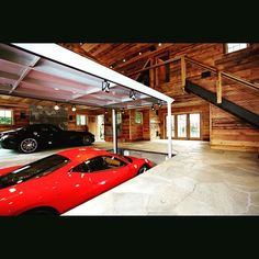 Now where else would you consider parking your high end exotic cars .. #luxury #exotic #customgarage #luxurylifestyle #wealthylifestyle #exoticcars #supercar #ferrari #lavishlifestyle by platinumlifestyle1