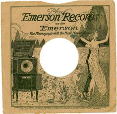 EMERSON Records - sleeve