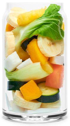 Real Smoothie Tropicool Recipe: Bok Choy, Banana, Zucchini, Rockmelon, Mango, Coconut