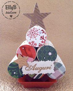 Mini Albero di Natale con Tappi di sughero - Home Decor