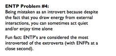 ENTP Problems