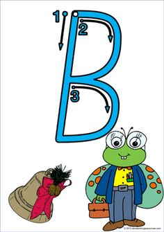Each letter has a starting point, a directional arrow, and a sequence of movements to assist students with the correct letter formation. Visible Learning, Initial Sounds, Picture Letters, Letter Formation, Uppercase And Lowercase Letters, Print Fonts, Vocabulary Cards, Handwriting Practice, Lower Case Letters