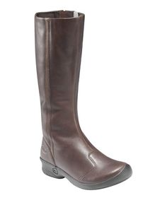 Take a look at this Chocolate Brown Ferno High Boot - Women by KEEN on #zulily today!