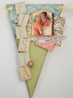 Adorable Little Darlings banners from ScrapbookSteals! #graphic45