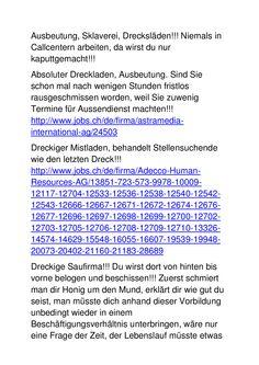 Dreckiger Gauner- und Betrüger(läden)! Words