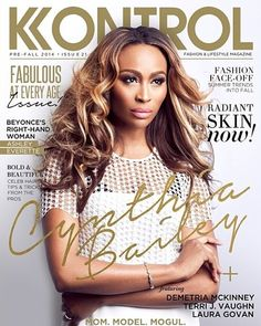 "Cynthia Bailey Serves FACE On KONTROL Magazine's August 2014 Issue + Azealia Banks' ""Heavy Metal And Reflective"" Video- http://getmybuzzup.com/wp-content/uploads/2014/08/342601-thumb.png- http://getmybuzzup.com/cynthia-bailey-on-kontrol-mag/- By _YBF Cynthia Bailey is going back to her model roots and is serving up some uber glam fabness on the cover of KONTROL magazine's ""Fabulous At Every Age"" issue. Plus, Azealia Banks has given her new track ""Heavy Met"