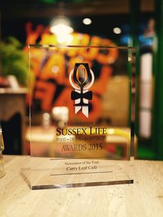 Curry Leaf Cafe wins Newcomer of the Year, Sussex Life Awards 2015