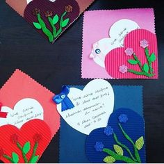 Mothers Day Crafts, Valentine Day Crafts, Happy Mothers Day, Valentines, Kindergarten Activities, Activities For Kids, Crafts For Kids, 3d Cards, Grandparents Day