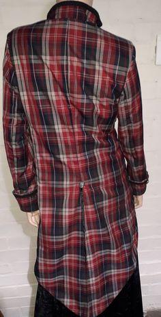 Tartan tailcoat