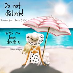 Do not disturb...unless you have chocolate!