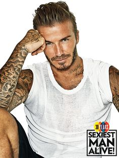 David Beckham 2015 Sexiest Man Alive!!! HE was sleeping in our bed two weeks ago...at the Dwarka. hot DAMMMMMMMM