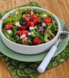 Baby Kale Greek Salad Recipe