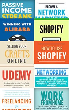 buy now   									£2.31 									  Attention fellow entrepreneurs! Are you looking for ways to make more money online? The problem at the moment is you end up spending money on new approaches that don't pan out. It  ...Read More
