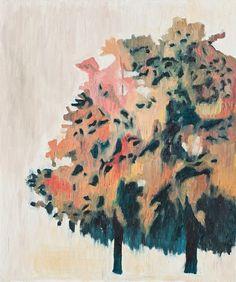 Sanghoon Oh, 겨울나무 Tree in winter, 73x61cm 2009