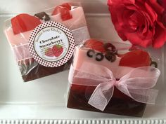 Chocolate Covered Strawberry Valentine soap by SeasideSoapKitchen https://www.etsy.com/listing/217786906/chocolate-covered-strawberry-valentine?ref=cat_gallery_37&ga_ref=auto-1&ga_search_query=strawberry+soap&ga_order=most_relevant&ga_view_type=gallery&ga_ship_to=US&ga_search_type=all