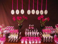 Decorações e mimos pra chá de lingerie