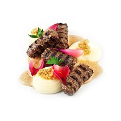 Cevapi or cevapcici is a grilled dish of minced meat, a type of skinless sausage, found traditionally in the countries of southeastern Europe (the Balkans). They are considered a national dish in Bosnia and Herzegovina, and Serbia.