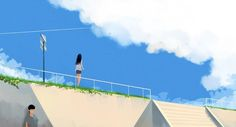 Macbook Wallpaper, Cool Wallpaper, Pascal Campion, Anime Places, Stock Background, Editing Pictures, Aesthetic Photo, Art Pages, Landscape Art