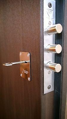 Deadbolt Door Lock Bump Pick Drill Proof High Security Mortise Wood Metal Doors Home Security Home Safety Door Lock Security