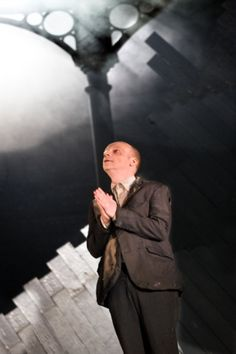 Jonathan Slinger as Prospero in The Tempest. Photography by Simon Annand.