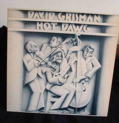 David Grisman Hot Dawg Lp Near Mint