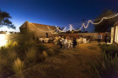 #wedding #marfa Backyard Wedding