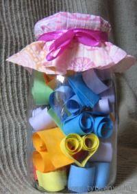 Gondolat lekvár kicsit másként Bálint napra  - Bálint nap - Valentin nap - Valentin day - papír - saját készítésű - DIY