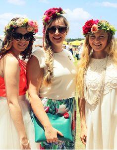 Les fleurs du paradis — Elodie Perrier Ladies#Floralhairpiece#colourful#sunshine#CaloundraTurfClub#byElodiePerrier