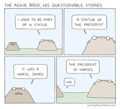 The Aging Rock
