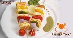Succulent cubes of Cottage Cheese marinated with the right blend of spices and grilled to perfection.