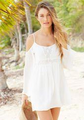 Josy Cold Shoulder Dress - adore!