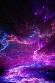 Enchanted clouds of my Purple Kingdom