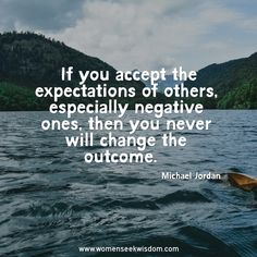 Create Your Own Expectations